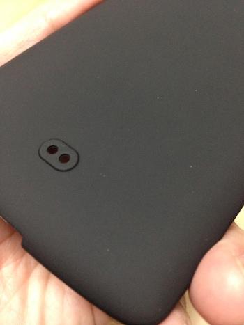 Nexus5 ケース ストラップホール