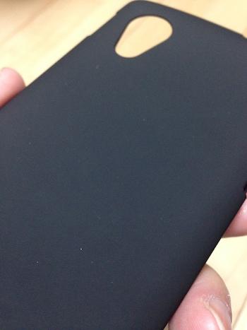 Nexus5 ケース マット感